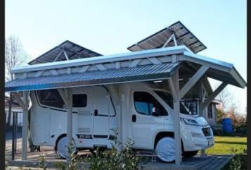Hire a motorhome in Landau in der Pfalz from private owners| Etrusco  Perfecto