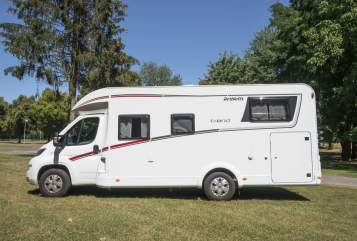 Hire a motorhome in Willich from private owners  Dethleffs Trend  Alfredo