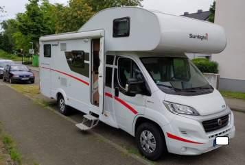 Hire a motorhome in Essen from private owners| Fiat Biggie