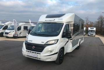 Hire a motorhome in Stuttgart from private owners| Sunlight  Sunny