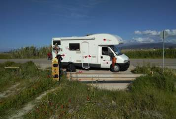 Hire a motorhome in Aichwald from private owners  Roller Team Carl