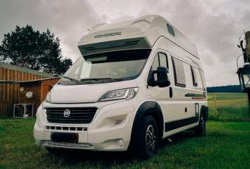 Hire a motorhome in Dresden from private owners  Weinsberg Weißer Riese