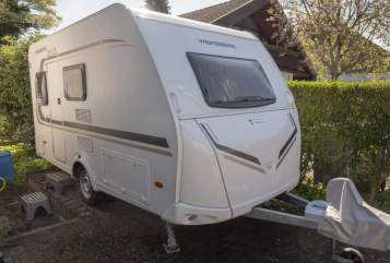 Hire a motorhome in Reinheim from private owners| Weinsberg Caraone 390QD