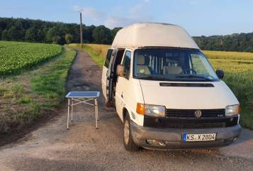 Hire a motorhome in Kassel from private owners  VW Wasserhannes