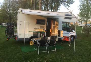 Hire a motorhome in Alpirsbach from private owners| Chausson  Flash