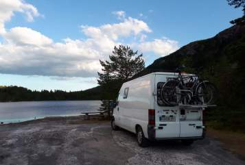 Hire a motorhome in Brügge from private owners| Fiat Nordcamper