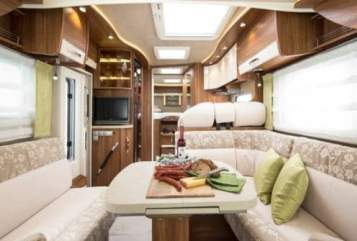 Hire a motorhome in Kritzow from private owners| FRANKIA 790 GD Automatik  EXCLUSIV CLASS LUPEO  (LUP EO 88)