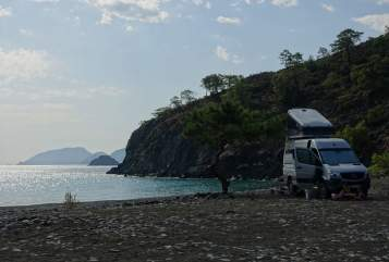 Hire a motorhome in München from private owners| Mercedes Benz Die Ziege