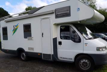 Hire a motorhome in Köln from private owners  Knaus FamilienKutsche
