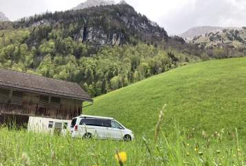 Hire a motorhome in Stuttgart from private owners| Mercedes  BusInsAbenteuer