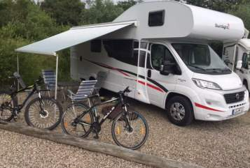 Hire a motorhome in Lüneburg from private owners  Fiat Ducato Happy