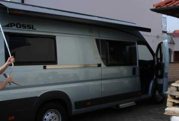 Hire a motorhome in Römerberg from private owners| Pössl HUGO