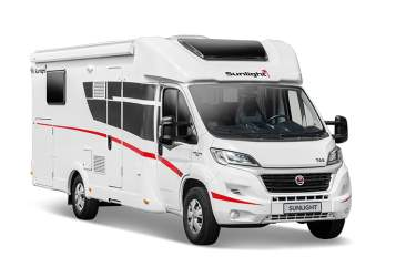 Hire a motorhome in Großenhain from private owners| SUNLIGHT Charly