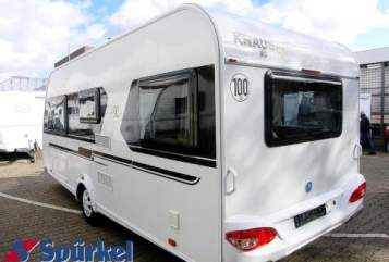 Hire a motorhome in Hamm from private owners  Knaus Theaker2