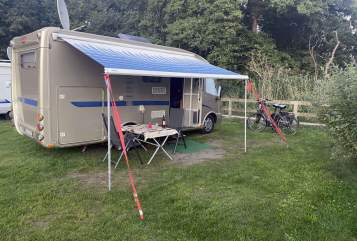 Hire a motorhome in Fuldatal from private owners  Dethleffs Balou