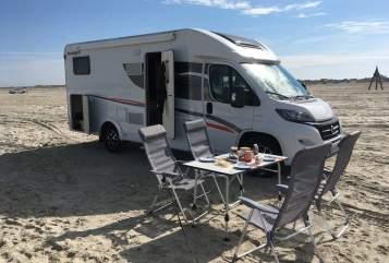 Hire a motorhome in Vellmar from private owners| Fiat Trudi