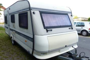 Hire a motorhome in Amt Rhinow from private owners| Hobby Luna