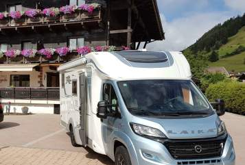 "Hire a motorhome in Waldems from private owners| Laika ""Taunus Laika"""