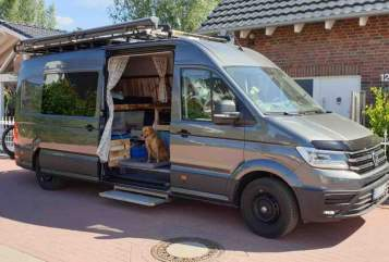 Hire a motorhome in Bottrop from private owners  VW Surfer-Van
