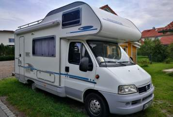 Hire a motorhome in Raisting from private owners| Fiat Carlo