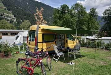 Hire a motorhome in Mainz from private owners  Opel Opel Vivaro