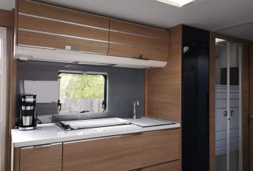 Hire a motorhome in Erfurt from private owners  Adria Willson