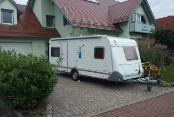 Hire a motorhome in Oberthulba from private owners| Knaus Azur  Der Rhöner
