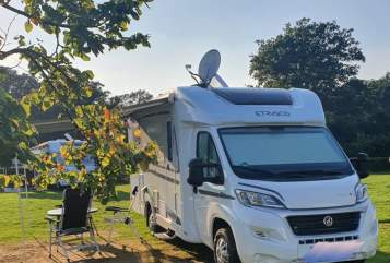 Hire a motorhome in Bochum from private owners| Etrusco Kremi's WoMo
