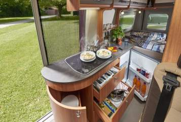 Hire a motorhome in Bottrop from private owners  Pössl Summit 600 Plus