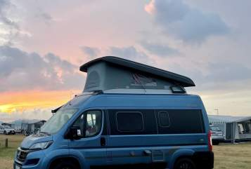 Hire a motorhome in Bonn from private owners  Hymer Campy