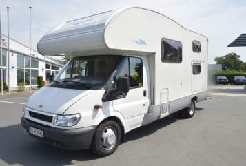 Hire a motorhome in Menden (Sauerland) from private owners| Ford  big-family 6 P.