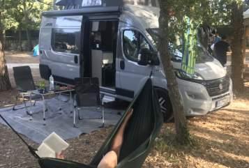 Hire a motorhome in Freiburg im Breisgau from private owners| Pössl Salvatore