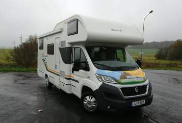 Hire a motorhome in Jena from private owners| Fiat Sun Living  Sun Living Lido A 49DP  Buddy Fiat