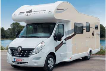 Hire a motorhome in Uetersen from private owners| Ahorn Canada AD
