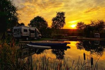Hire a motorhome in Kiel from private owners| Adria mit.kuddel.unterwegs