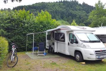 Hire a motorhome in Böhl-Iggelheim from private owners| Bürstner Felix