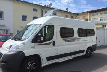 Hire a motorhome in Holzkirchen from private owners| Fiat Ducato Leo