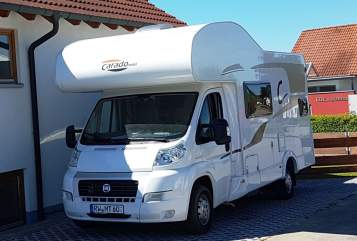 Hire a motorhome in Fluorn-Winzeln from private owners| Carado  Wohlfühlwomo