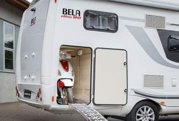 Hire a motorhome in Frammersbach from private owners| BELA Therese