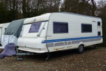 Hire a motorhome in Leverkusen from private owners  Hobby  Family-WoWa