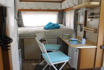 Hire a motorhome in Wurster Nordseeküste from private owners  Hobby  Lille