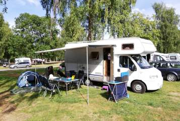 Hire a motorhome in Bad Saulgau from private owners| Dethleffs Siggi