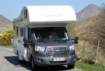 Hire a motorhome in Delbrück from private owners| Ford Moby Dick
