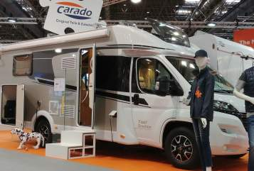 Hire a motorhome in Delbrück from private owners| Carado Moby Dick 2