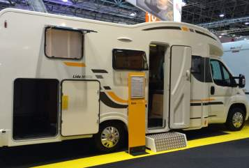 Hire a motorhome in Lübeck from private owners| Sun Living Adria