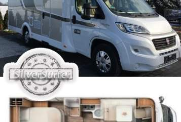 Hire a motorhome in Schkeuditz from private owners| Fiat SilverSurfer