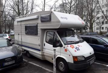 Hire a motorhome in Berlin from private owners| Ford GARUDA II