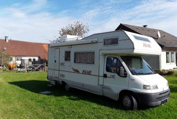 Hire a motorhome in Krauchenwies from private owners  Fiat Pegasus