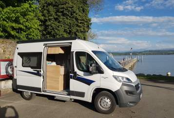 Hire a motorhome in Heidelberg from private owners| Knaus  Nomade mit Alarmanlage und Solar