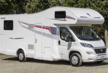 Hire a motorhome in Pirna from private owners| Rimor Familien Camper